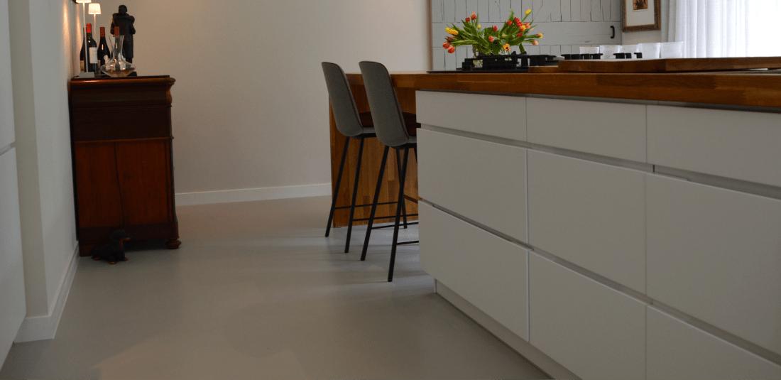 keuken met pu